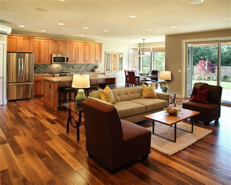 open plan flooring ideas open floor plan houzz