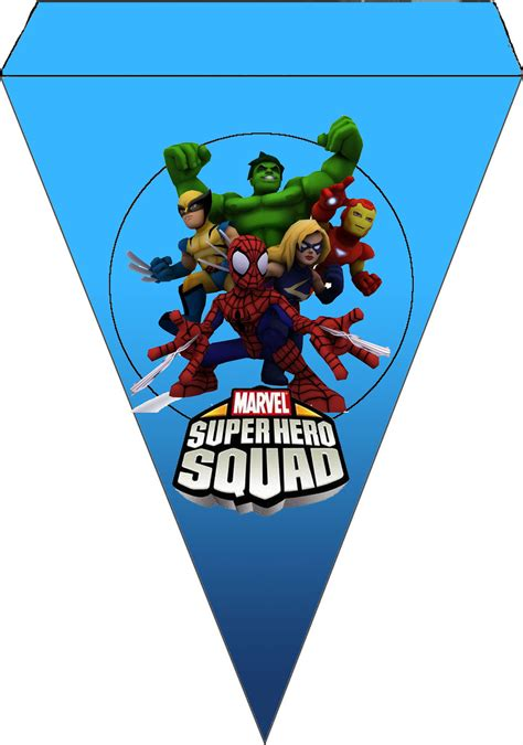 marvel heroes printable pictures marvel superhero squad free party printables oh my