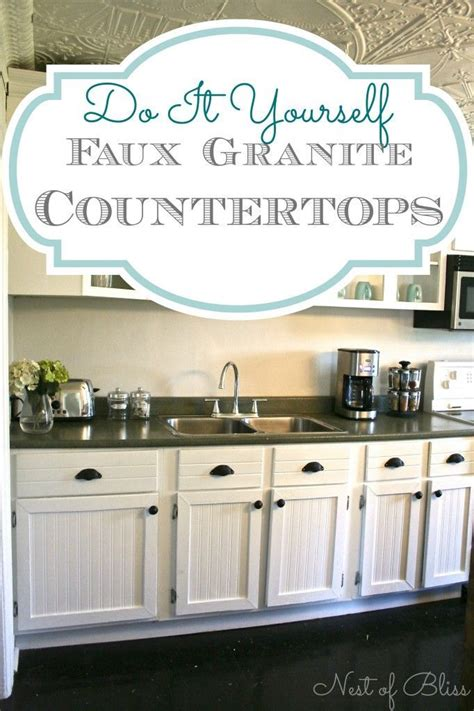 Low Cost Countertops by Diy Low Cost Update With Impact Easy Gorgeous