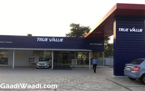 maruti suzuki true value maruti true value outlets get brand new theme inspired by nexa