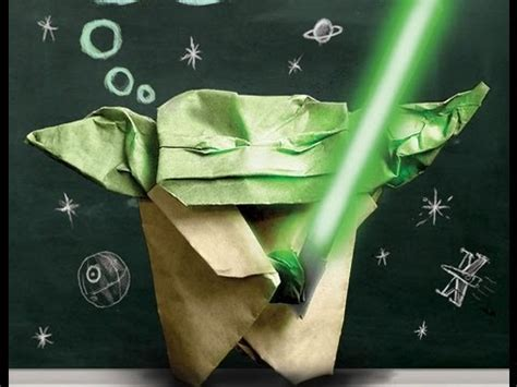 Origami Yoda How To - how to make the origami cover yoda