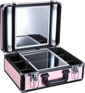 makeup suitcase with lights and mirror china makeup with light with mirror suitcase f9500k