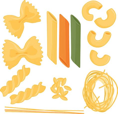pasta clipart royalty free fusilli clip vector images