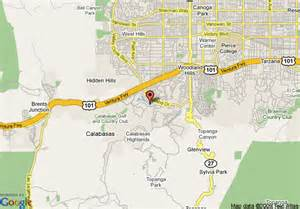 map of calabasas california map of garden inn calabasas calabasas
