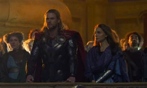 thor movie jane foster truck thor the dark world images show thor and jane foster ifc