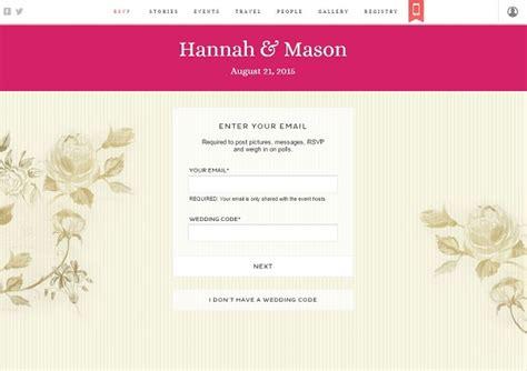 free wedding invitation websites best websites for wedding guests to rsvp