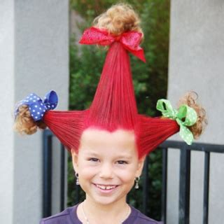 hairstyles for school tomorrow 61 best dr seuss who ville hair ideas images on pinterest