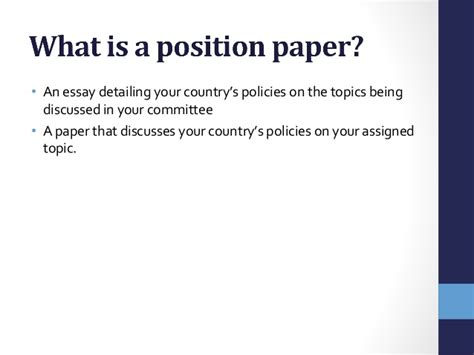 how to write a position paper position essay topics opinion essay ideas find this pin