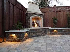 outdoor fireplace and grill outdoor fireplace designs for everyone