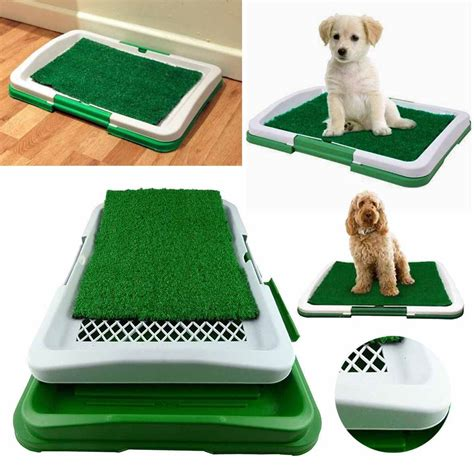 Potty Pad Indoor Doggie Bathroom by Pet Toilet Mat Indoor Restroom Grass Potty