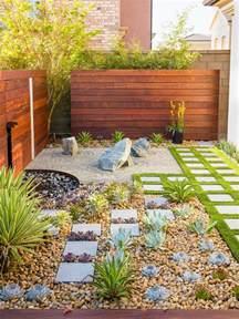 Rock Garden With Water Feature California Zen Rock Garden With Ipe Wood Water Feature Ipe Wood Drought Tolerant And Water