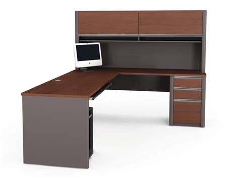 l shaped desk with left return l shaped desk with hutch left return whitevan