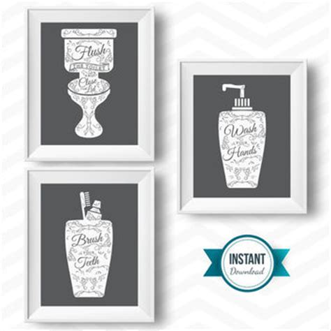 bathroom art printables shop bathroom rules on wanelo