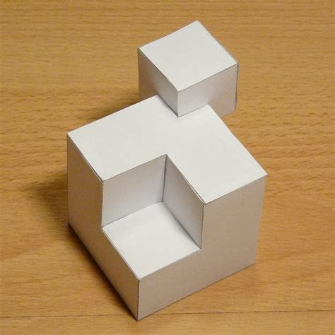 Shapes With Paper - paper cubic shapes