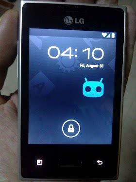 themes for android lg e400 install official cm9 ics rom on lg optimus l3 e400