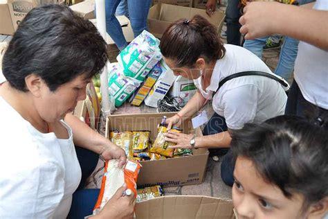 hoy tamaulipas puebla requiere donaciones de alimentos enlatados por higiene