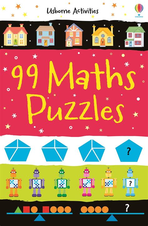 99 for 1 books 99 maths puzzles at usborne children s books