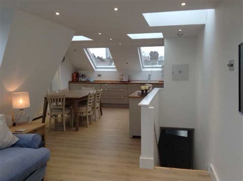 mansard loft conversion reverse living flat