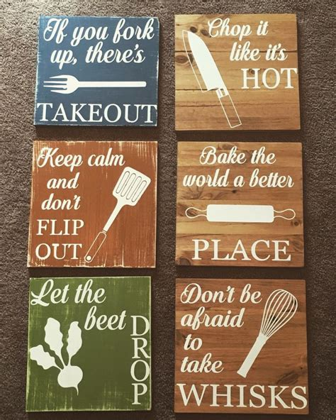 the 25 best ideas about kitchen signs on