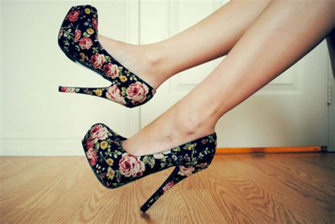 floral pattern high heels 7 shoe trends for spring 2013 shoes