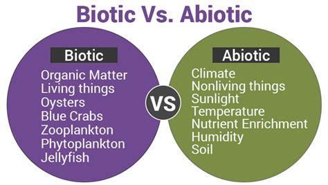 exle of biotic factors biotic and abiotic importance of biotic abiotic factors
