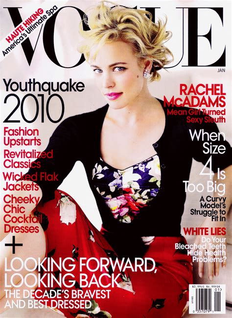 magazine usa rachel mcadams for us vogue january 2010 art8amby s blog