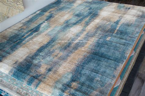 Green Area Rug 8x10 8x10 Designer Modern Contemporary Plush Shag Teal Green Blue Gray Decor Area Rug Ebay