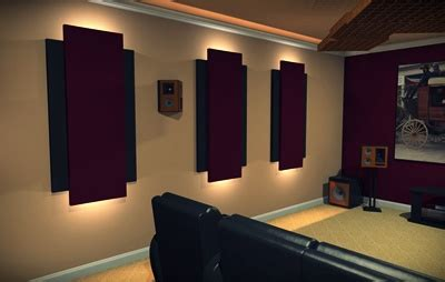 How Auralex Can Improve Your Home Cinema Experience Pmt Living Room Acoustic Treatment