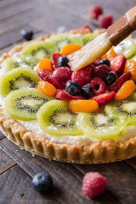 fruit tart fresh fruit tart with vanilla mascarpone sallys