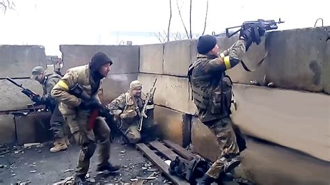 ukraine war ukrainian army brutal firefight with russia ukraine war 2016 heavy firefights during fighting in