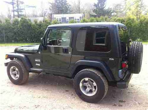 2004 Jeep Wrangler Willys Find Used 2004 Jeep Wrangler Sport Utility 2 Door Willys