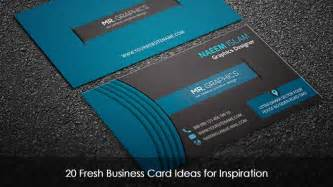 business cards ideas free 20 fresh business card ideas for inspiration