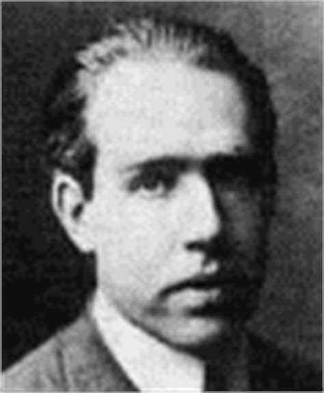 biography of niels bohr identification of spectral lines history of ionized helium