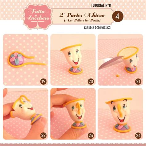 tutorial c mrs potts and chip beauty and the beast 2 chip