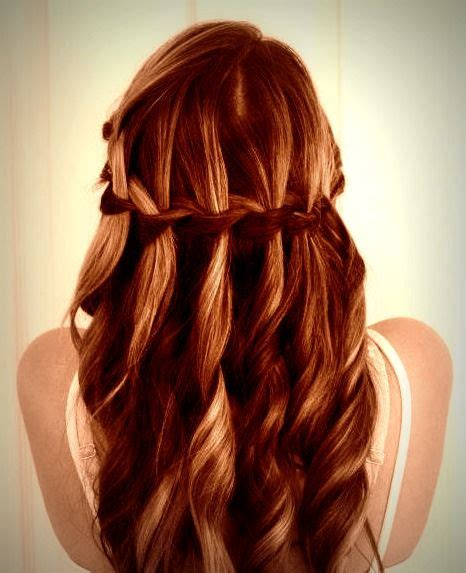 courtney kerrs waves with braids how to waterfall braid braids hairstyles hairdos https