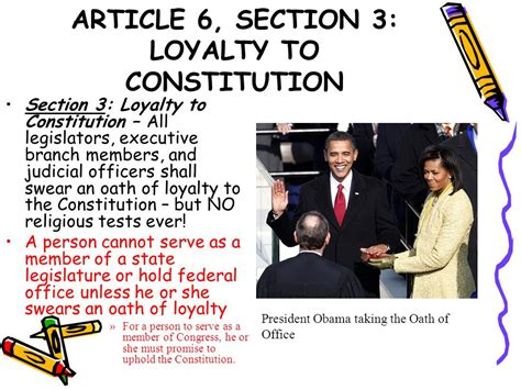 article 6 section 2 our living constitution ppt download