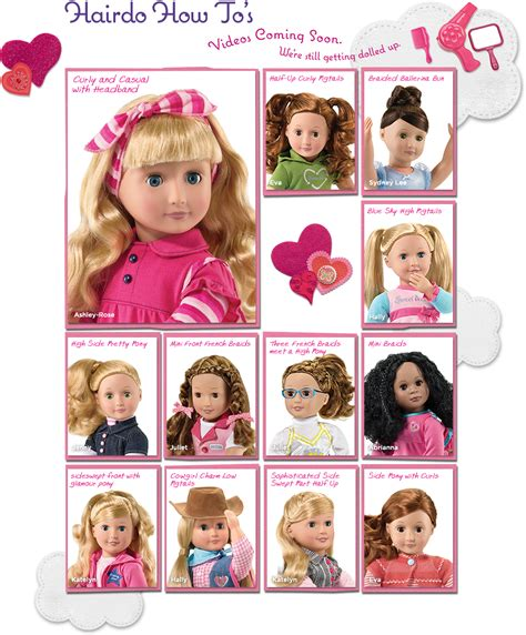 Hairstyle Dolls by Our Generation Dolls Hairstyles American Doll