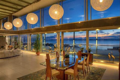Beach House Kitchen Design by Stunning Modern Ocean View Home With Open Floor Plan