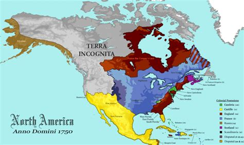 america map in 1750 map 1750 america map of america 1750