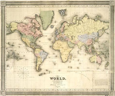 printable art world map vintage maps 36 pinteres