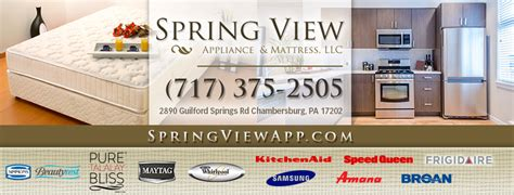 spring view appliance mattress chambersburg view appliance mattress llc home