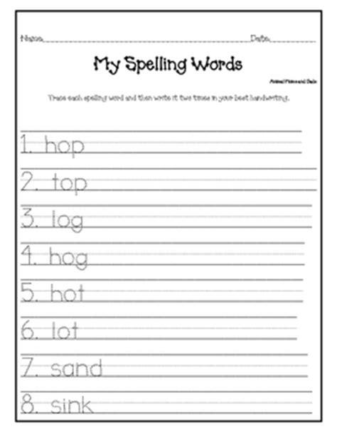 Spelling Homework Worksheets by Spelling Homework Worksheets Worksheets Releaseboard