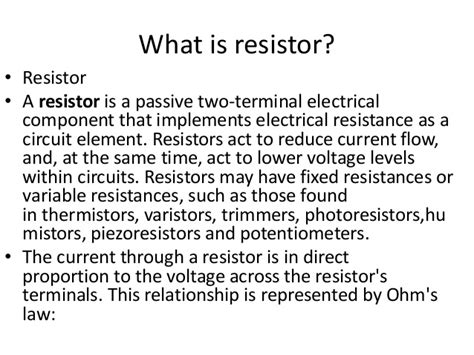do resistors lower voltage or current resistors decrease current 28 images building series