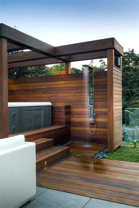 Cheap Small House Plans luxury outdoor hot tub patio contemporary with stair