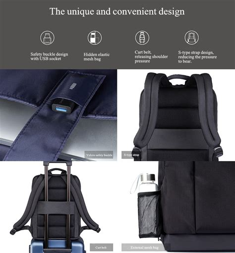 Ori Xiaomi Multifunctional Chest Pack Crossbody Bag Shoulder Backpack xiaomi classic business backpack school backpack cing