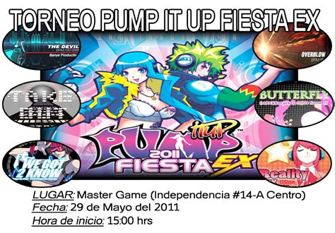 imagenes de pump it up fiesta ex master game torneo de pump it up fiesta ex