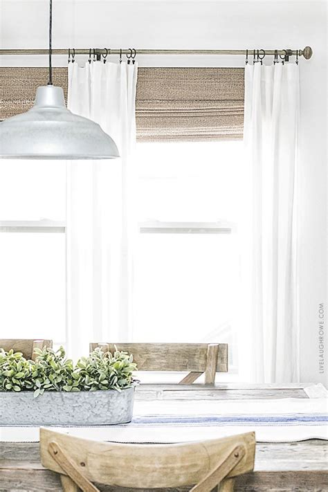 Neutral Curtains Window Treatments Designs Neutral Window Treatments Farmhouse Style Live Laugh Rowe