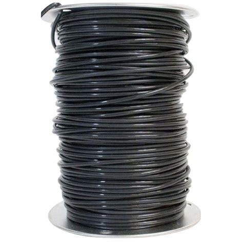 southwire 500 ft 12 2 black stranded landscape lighting wire 55213445 the home depot