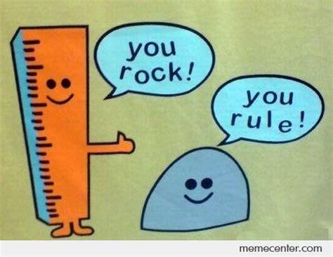 rock  rule  ben meme center