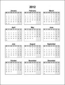 2014 one page calendar template printable 2012 calendar on one page calendar template 2016